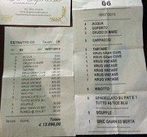 Una cena da 13mila euro sul Gargano. Nell'iperuranio dei vip è cosa normale